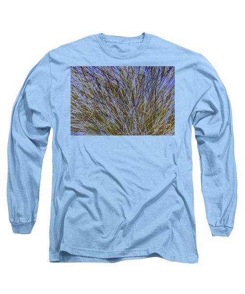 Blue Grass Long Sleeve T-Shirt
