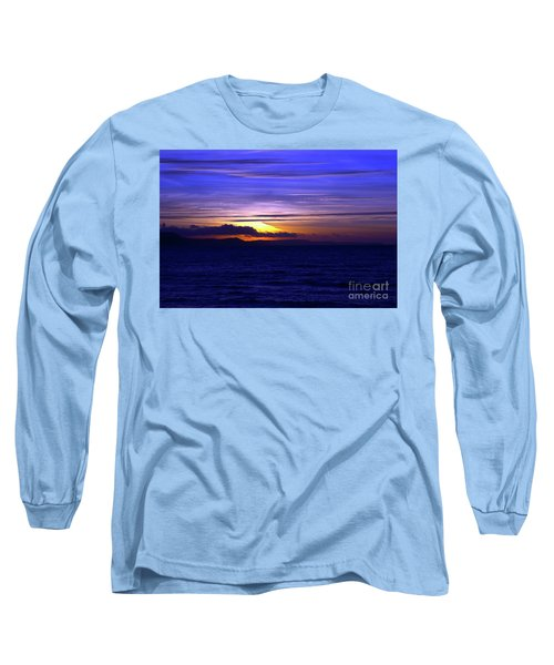 Blue Heaven  Long Sleeve T-Shirt by Stephen Melia