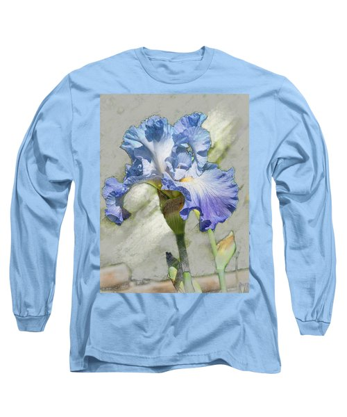 Blue Iris 2 Long Sleeve T-Shirt
