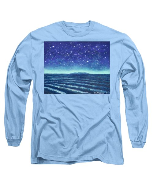 Blue Island 01 Long Sleeve T-Shirt