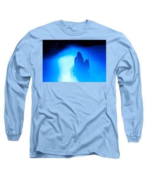 Blue Knight Long Sleeve T-Shirt