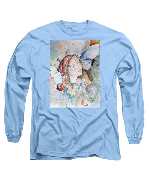 Blue Morpho Long Sleeve T-Shirt