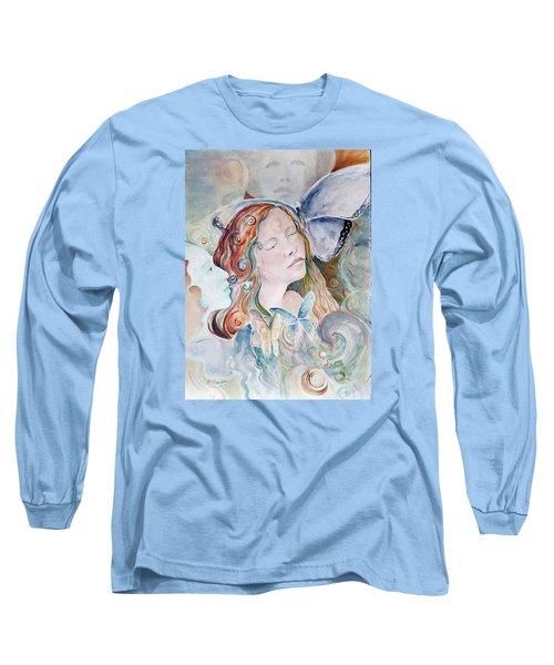 Blue Morpho Long Sleeve T-Shirt