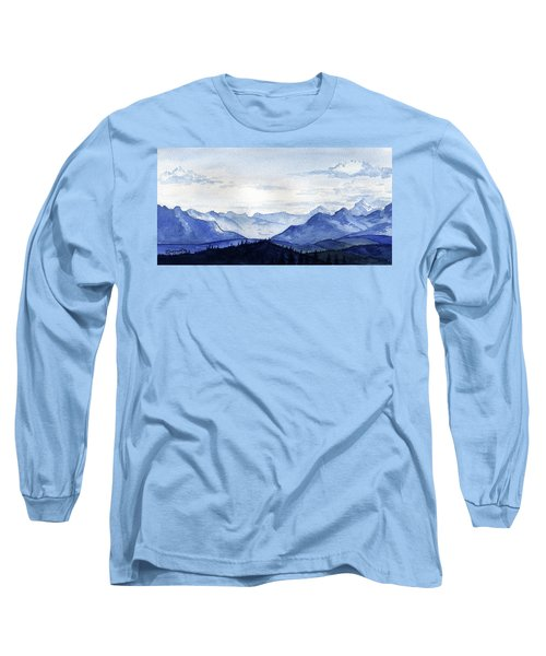 Blue Mountains Long Sleeve T-Shirt