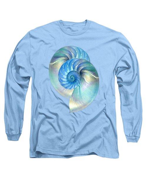 Blue Nautilus Pair Long Sleeve T-Shirt