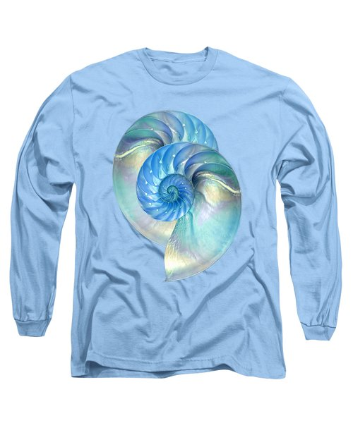 Blue Nautilus Pair Long Sleeve T-Shirt