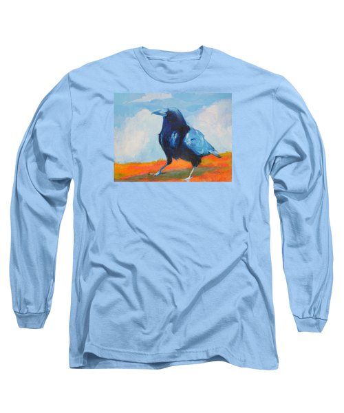 Blue Raven Long Sleeve T-Shirt