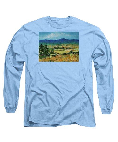 Blue Ridge Long Sleeve T-Shirt by Gail Kent