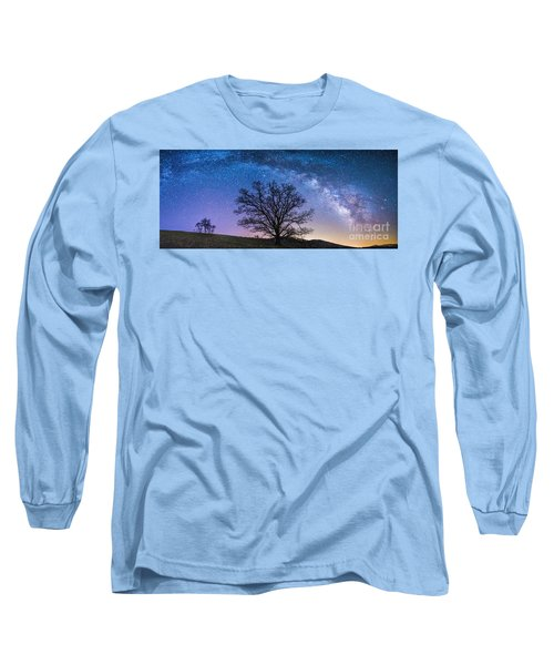 Blue Ridge Milkyway Long Sleeve T-Shirt by Robert Loe