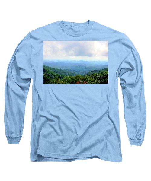 Blue Ridge Parkway Overlook Long Sleeve T-Shirt