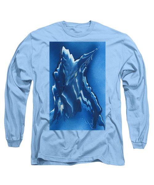Blue Ridge Space Mountain Long Sleeve T-Shirt