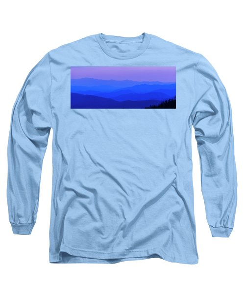Blue Ridge Spring 08 Long Sleeve T-Shirt by Kevin Blackburn