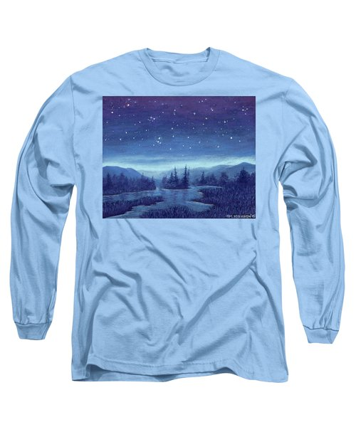 Blue River 01 Long Sleeve T-Shirt