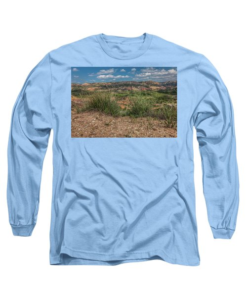 Blue Skies Over Palo Duro Canyon Long Sleeve T-Shirt