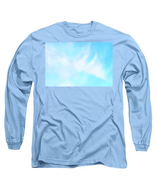 Blue Sky Long Sleeve T-Shirt by Anton Kalinichev