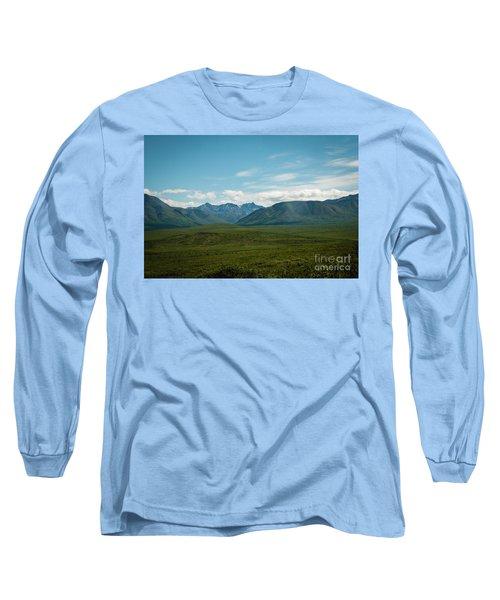Blue Sky Mountians Long Sleeve T-Shirt