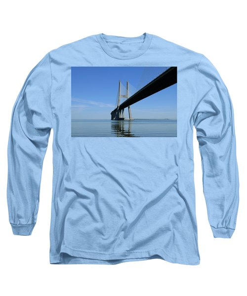 Blue Sunny Day Long Sleeve T-Shirt