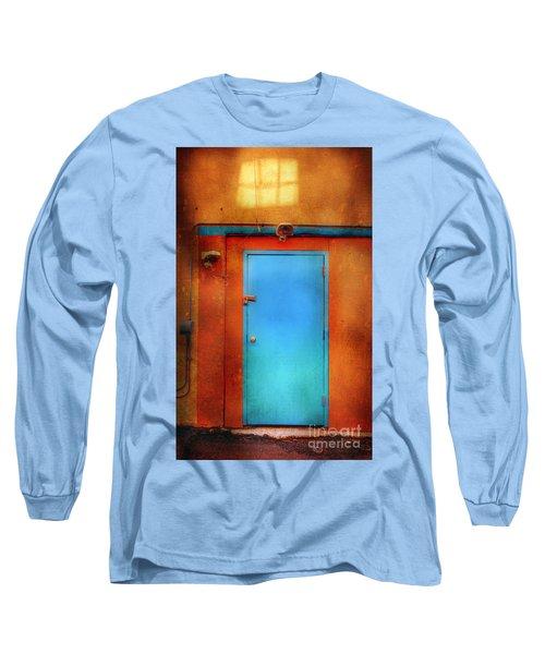Blue Taos Door Long Sleeve T-Shirt