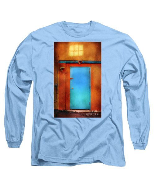 Blue Taos Door Long Sleeve T-Shirt