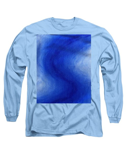 Blue Vibration Long Sleeve T-Shirt
