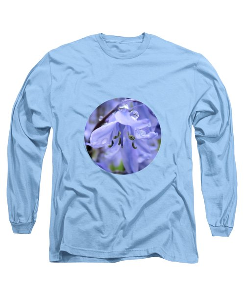 Bluebell Wood By V.kelly Long Sleeve T-Shirt