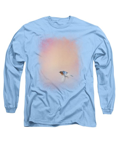 Bluebird 1 - I Wish I Could Fly Series Long Sleeve T-Shirt