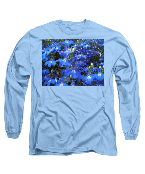 Bluer Than Blue Long Sleeve T-Shirt