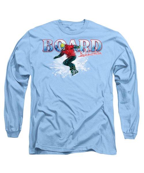 Board Addiction Long Sleeve T-Shirt by Rob Corsetti
