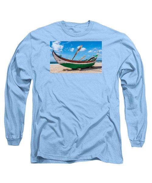 Boat Ashore Long Sleeve T-Shirt