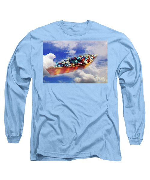 Boat In The Clouds Long Sleeve T-Shirt