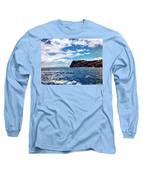 Long Sleeve T-Shirt featuring the photograph Boat Life by Michael Albright