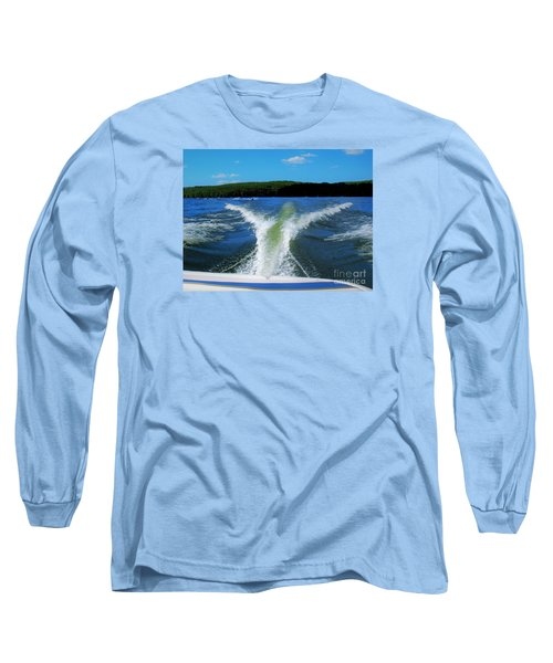 Boat Wake Long Sleeve T-Shirt