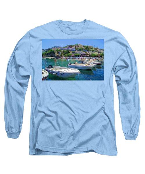 Boats In Bali Long Sleeve T-Shirt