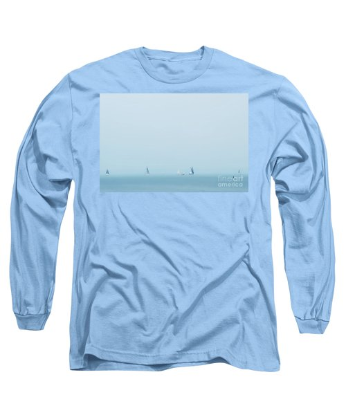 Boats On The Irish Sea Long Sleeve T-Shirt