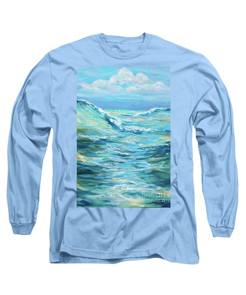Bodysurfing Afternoon Long Sleeve T-Shirt