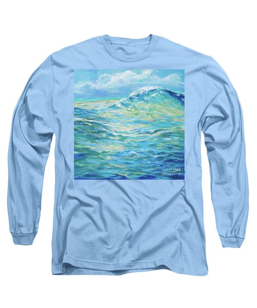 Bodysurfing Rolling Wave Long Sleeve T-Shirt