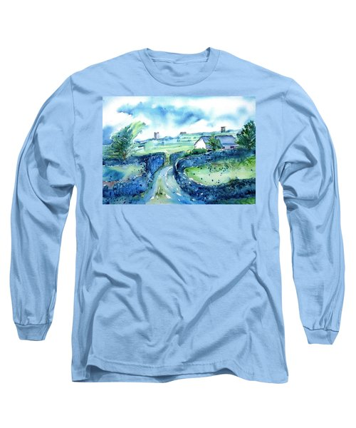 Boithrin Inisheer Long Sleeve T-Shirt by Trudi Doyle