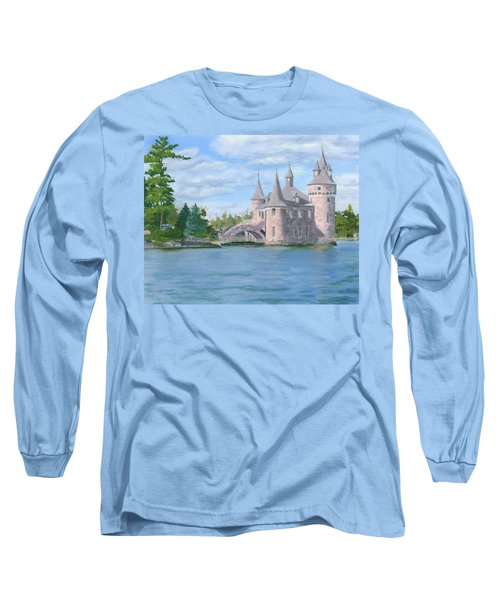 Long Sleeve T-Shirt featuring the painting Boldt's Power House by Lynne Reichhart