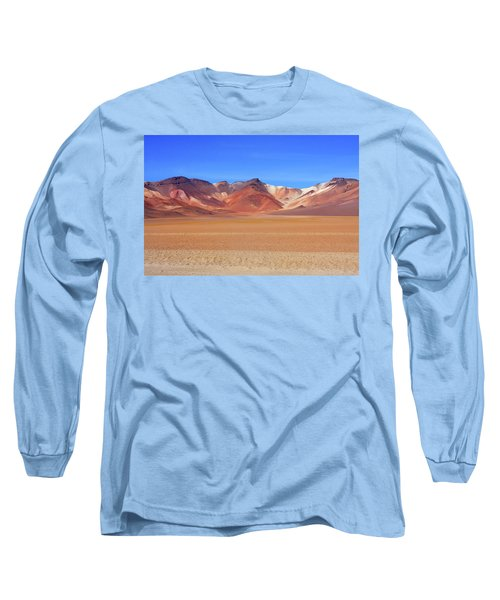 Bolivian Altiplano  Long Sleeve T-Shirt by Aidan Moran