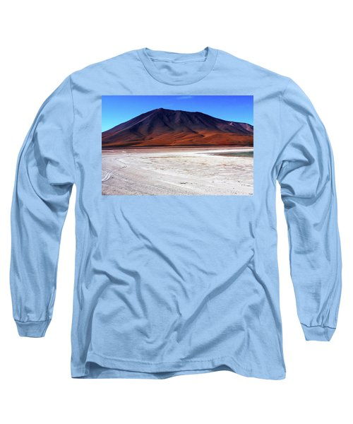 Long Sleeve T-Shirt featuring the photograph Bolivian Altiplano, South America by Aidan Moran