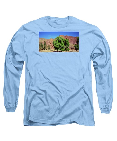 Bolivian Landscape  Long Sleeve T-Shirt