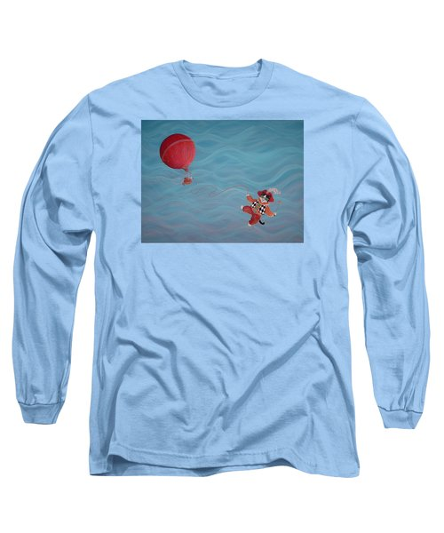 Bon Voyage Long Sleeve T-Shirt by Dee Davis