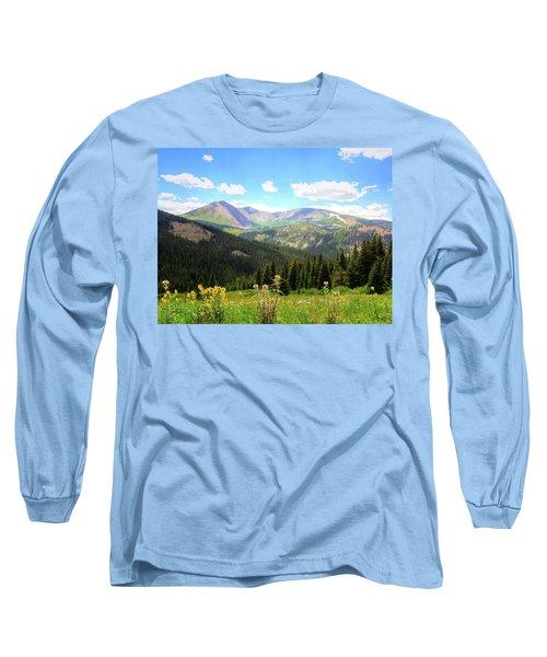 Boreas Pass Colorado Long Sleeve T-Shirt