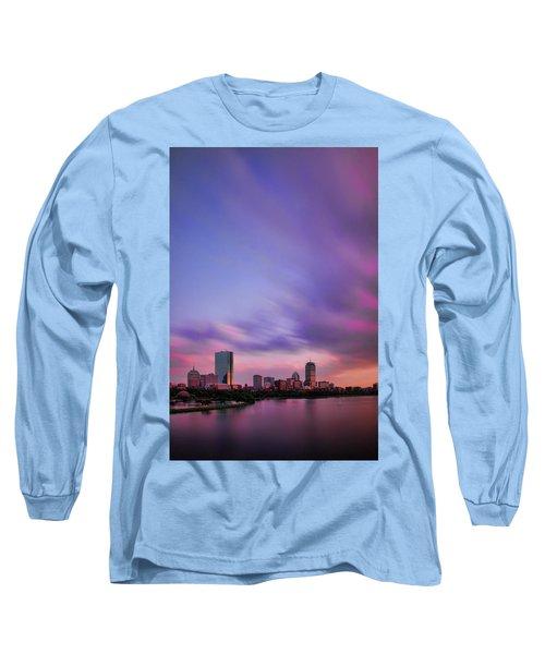 Boston Afterglow Long Sleeve T-Shirt by Rick Berk