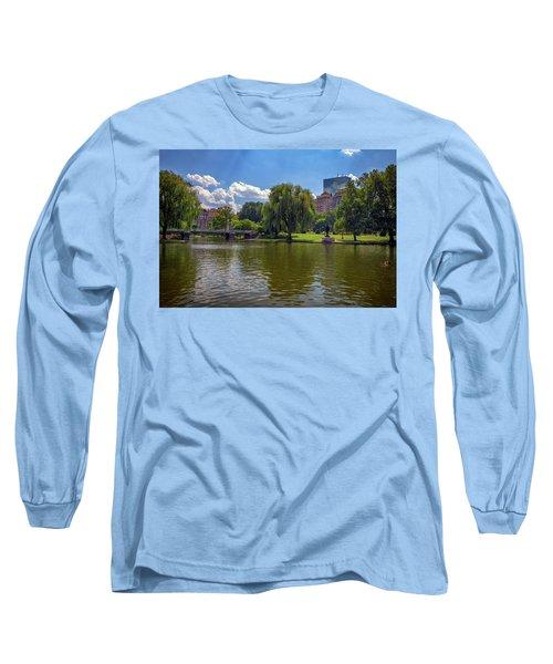 Boston Public Garden Long Sleeve T-Shirt
