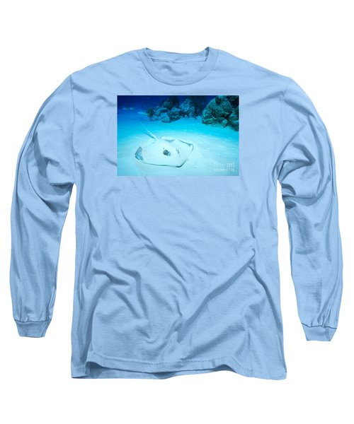 Bottom Dweller Long Sleeve T-Shirt by Aaron Whittemore