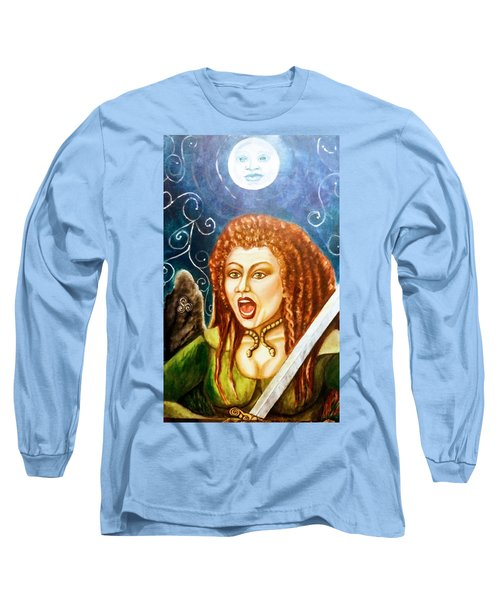 Boudicca  Let Not Our Daughters Be Forgotten Long Sleeve T-Shirt