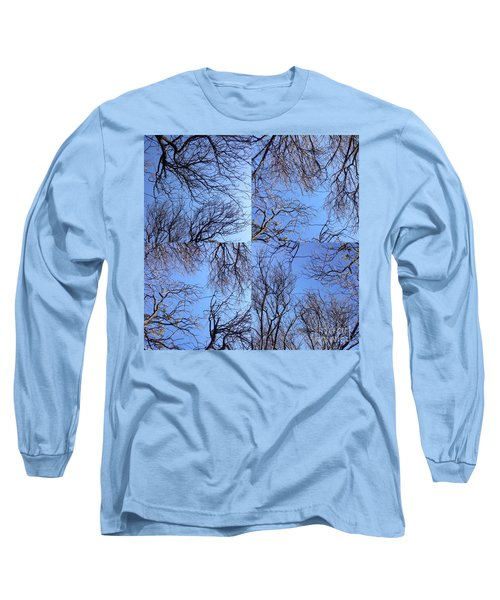 Long Sleeve T-Shirt featuring the photograph Branches by Nora Boghossian
