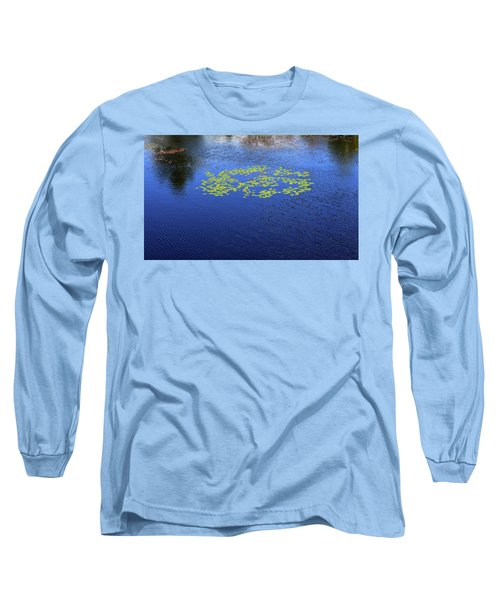 Breeze On The Water  Long Sleeve T-Shirt by Lyle Crump