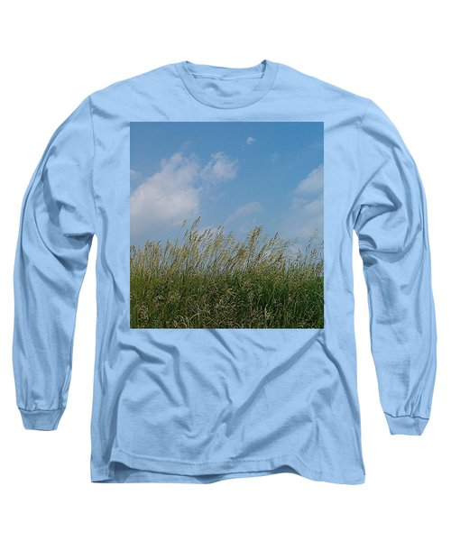 Long Sleeve T-Shirt featuring the photograph Breezy Day by Sara  Raber